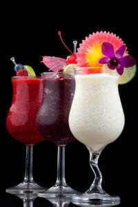 Banana, Blueberry and Raspberry Daiquiri - Most popular cocktail